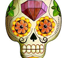 Diamond Sugar Skull by colonelle