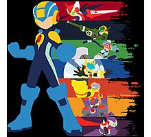 Megaman: Souls of a Hero V2 Minimal Photographic Print