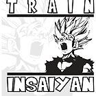 Train Insaiyan - Teen Gohan by ProjectPixel