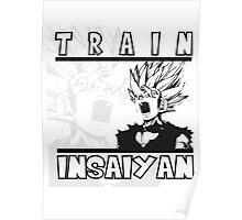 Train Insaiyan - Teen Gohan Poster