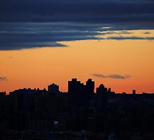 NYC Sunset by izzynesci
