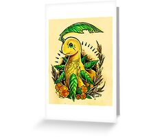 Bayleef Greeting Card