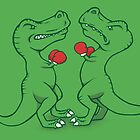 T-Rex Boxing by jellysoupstudio