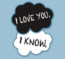 I love you.I know. Kids Clothes