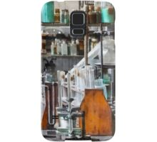 Chem Lab With Test Tubes and Retort Samsung Galaxy Case/Skin