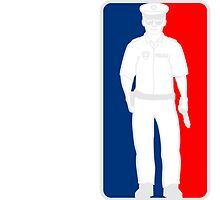 Police Sports logo red blue by Style-O-Mat
