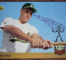 045 - Mike Neill by Foob's Baseball Cards