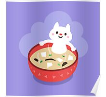 Miso Cat Poster