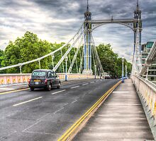 Chelsea bridge London by DavidHornchurch