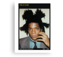 BASQUIAT-THE 27 CLUB Canvas Print