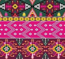 Seamless pattern in native american style by tomuato