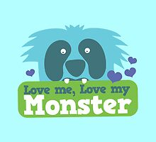 Love me love my monster by jazzydevil