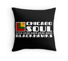 Hawks Legacy Throw Pillow