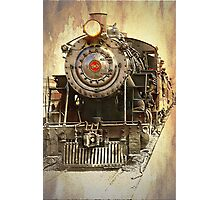 Engine No. 90 Photographic Print