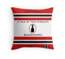 Two Stanleys Book Cover Throw Pillow