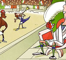 Italy in the world cup by omarmomani