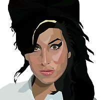 Amy Winehouse by Melissa Williams