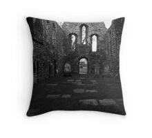 The Old Kirk Throw Pillow