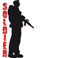 Soldier Soldat Held by Style-O-Mat