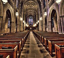 The Aisle of Duke Chapel by Kadwell
