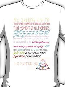 Half Moon Kids Speech T-Shirt