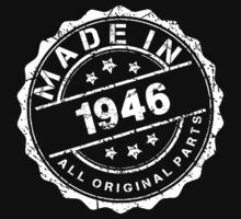 MADE IN 1946 ALL ORIGINAL PARTS by smrdesign