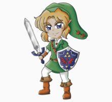 Legend of Zelda: Link Chibi by boundbyribbon