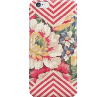 Candy Floral Chevron iPhone Case/Skin