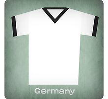 Retro Football Jersey Germany by Daviz Industries