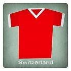 Retro Football Jersey Switzerland by Daviz Industries