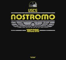 Alien Nostromo Distressed by djtenebrae