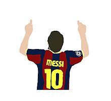 Messi 10 Photographic Print