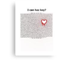 Heartbleed OpenSSL One Metal Print