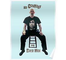 No Country For Bald Men Poster