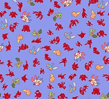 Chibi Pokemon Patterns! Hoenn/Generation 3 by Yuririi