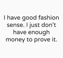 Fashion Sense by Annie Ma
