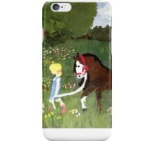 She Stole My Horse iPhone Case/Skin