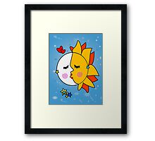 You are the sunshine of my life Framed Print