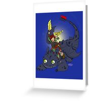 Dragon Time! Greeting Card