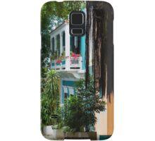San Juan, Puerto Rico - Gorgeous Caribbean Colors and Flora Samsung Galaxy Case/Skin