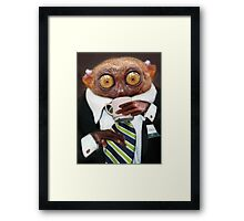 This Anxiety is Killing Me! Framed Print