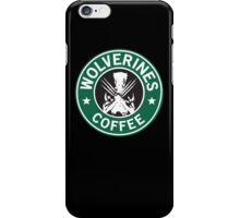 Wolverines Coffee iPhone Case/Skin