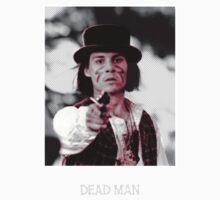johnny depp in dead man(black t-shirt) by adam mazzarella