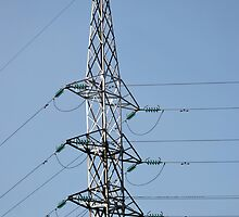high voltage electricity line by bayu harsa