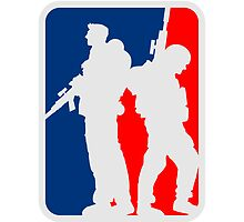 2 soldiers friends sports team crew by Style-O-Mat