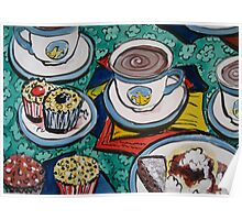 Tea for Three by Heather Holland  Poster