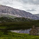 Arkle Massif & Loch Stack Panorama by David Lewins