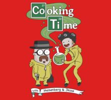 Cooking Time With Heisenberg by DeepFriedArt