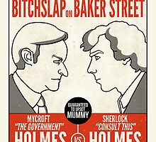 Bitchslap on Baker Street (card) by redscharlach