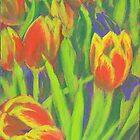 Tulips by Jaana Day